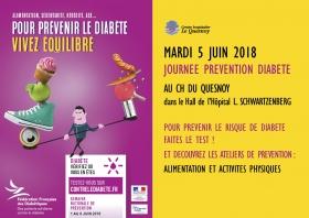Journée Diabète au CH du Quesnoy
