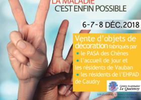 Le CH participe au TELETHON les 6, 7 et 8 décembre 2018