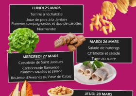 La semaine des saveurs des Hauts-de France au Centre Hospitalier