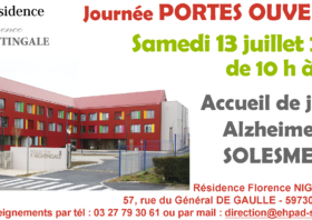 Samedi 13 juillet : Portes ouvertes à l'Accueil de Jour de Solesmes