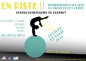 Culture et Santé : Sensibiliser les usagers et les professionnels aux arts du cirque et de la piste