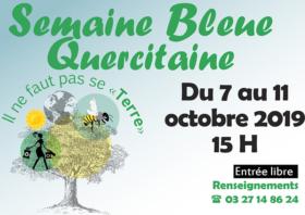 Semaine Bleue Quercitaine du 7 au 11 octobre 2019 dans les EHPAD