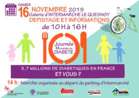 Journée Mondiale du Diabète – 16 novembre 2019