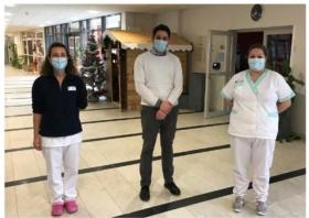 La Voix du Nord s'intéresse au nouveau dispositif d'astreinte infirmiers la nuit en EHPAD dans le quercitain
