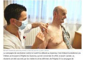 Vaccination anti-COVID : l'Observateur de l'Avesnois s'est intéressé au CH du Quesnoy
