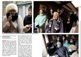 Les patients du SSIAD de Bavay ont reçu la visite des «Fées d'hiver»